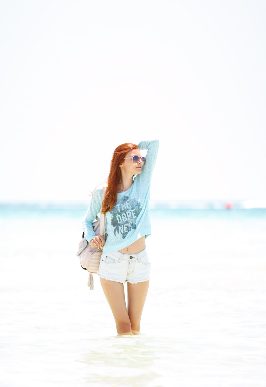 Natalie Soul Blog. Miami River Island HIGH WAISTED SHORTS Outfit