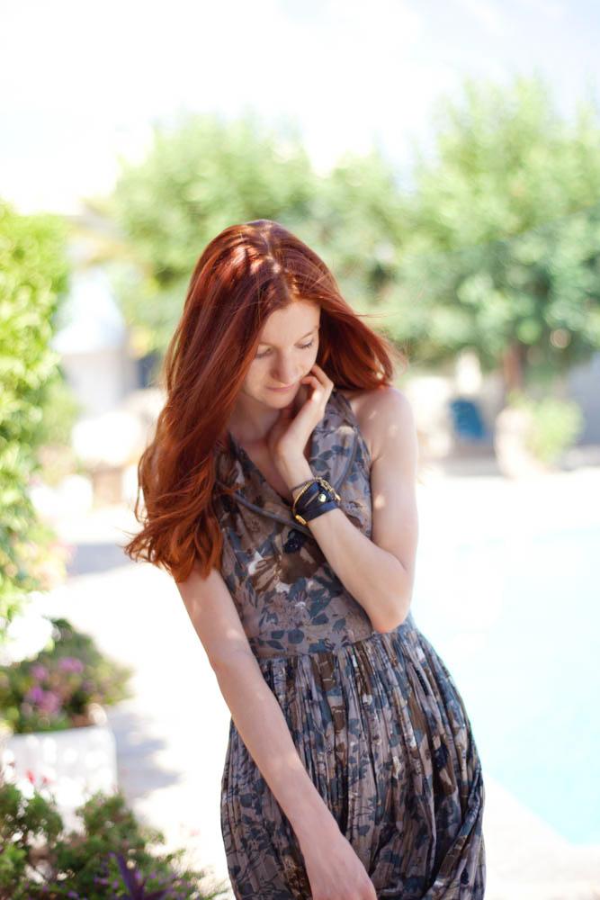 Natalie Soul Blog. Summer shift Asos Khaki Dress Outfit